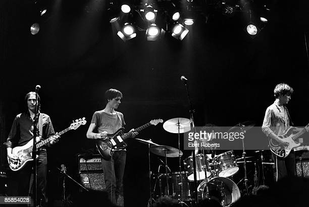 UNITED STATES JANUARY 01 TELEVISION and Billy FICCA and Tom VERLAINE and Richard LLOYD and Fred SMITH Group performing on stage LR Fred Smith Tom...