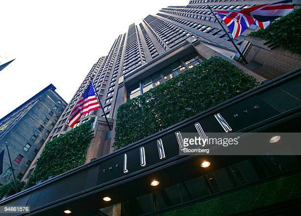 S And British Flags Fly Outside The London Nyc Hotel In New York Tuesday November 21