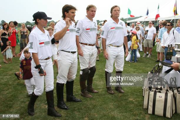 and Bruce Colley attend The 13th Annual MASHOMACK INTERNATIONAL Polo Challenge presented by HUNTER BOOT at Pine Plains on June 26 2010
