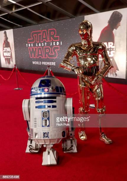 The Last Jedi Premiere at The Shrine Auditorium on December 9 2017 in Los Angeles California