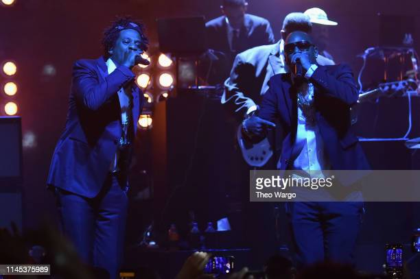 And Cam'ron perform B-Sides 2 at Webster Hall on April 26, 2019 in New York City.
