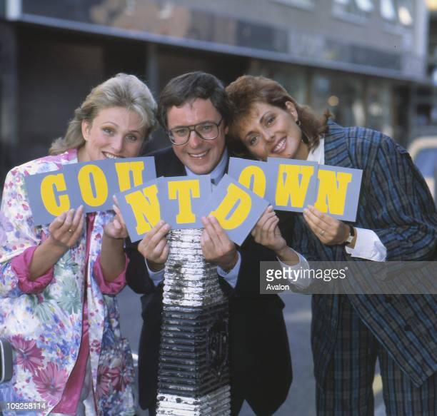WHITELY and CAROL VORDERMAN Left To Right Presenters of the Channel 4 TV game show 'Countdown'
