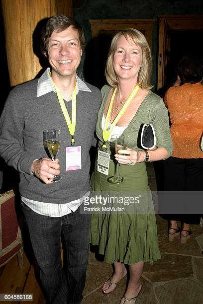 and Carolyn O'Neil attend Maison Cordon Rouge House / Champagne Mumm / Sushi Soiree hosted by Sissy Biggers Ming Tsai at Maison Cordon Rouge House on...