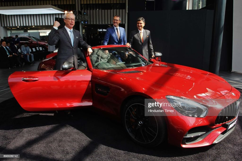 MD and CEO Roland Folger Launches New Mercedes-AMG GT-R