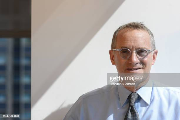 CFA and Chairman at Oaktree Howard Marks is photographed for New York Times on September 19 2013 in New York City