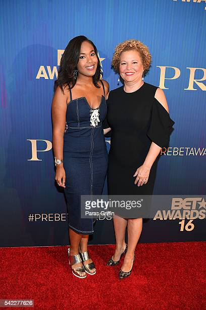 CEO and Chairman Debra L Lee and Ava Coleman attend Debra Lee's PRE kicking off the 2016 BET Awards at The London West Hollywood on June 22 2016 in...