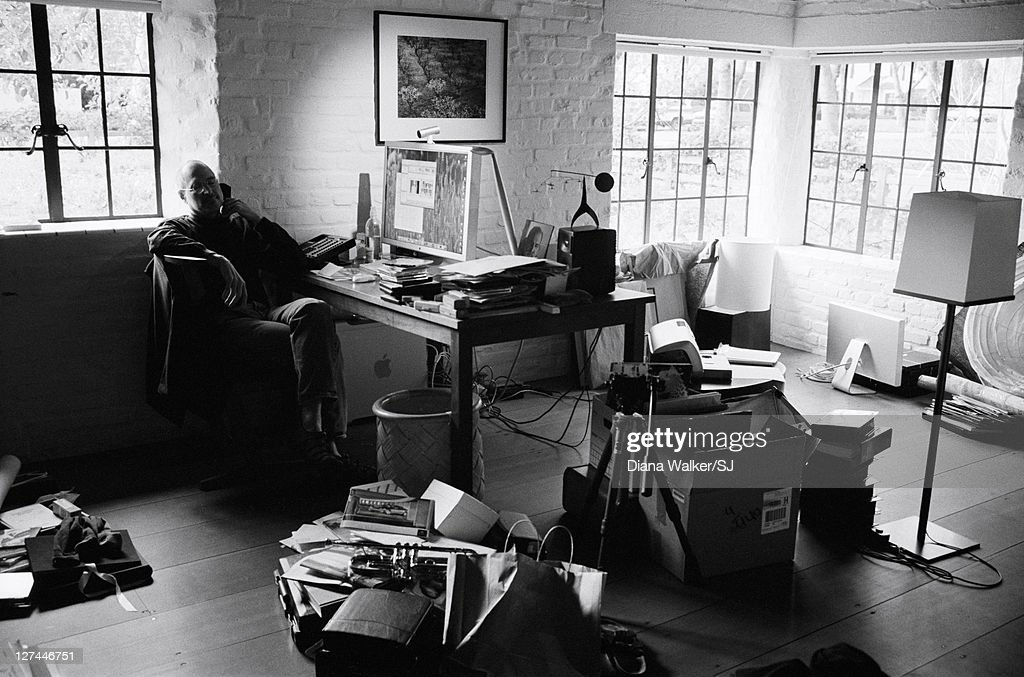 CEO And Chairman Of Apple Steve Jobs At His Palo Alto Home For Time  Magazine December