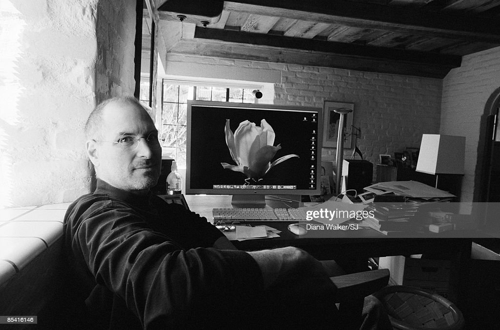 Steve Jobs at home, Time, December 27, 2004