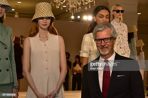CEO and Chairman of Brooks Brothers Claudio Del Vecchio atttends the Brooks Brothers Presentation during Spring 2016 New York Fashion Week on...