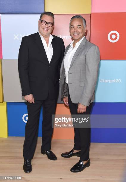 EVP and Chief Marketing Officer for Target Mark Tritton and EVP and Chief Marketing Officer and Digital Officer for Target Rick Gomez attend the...