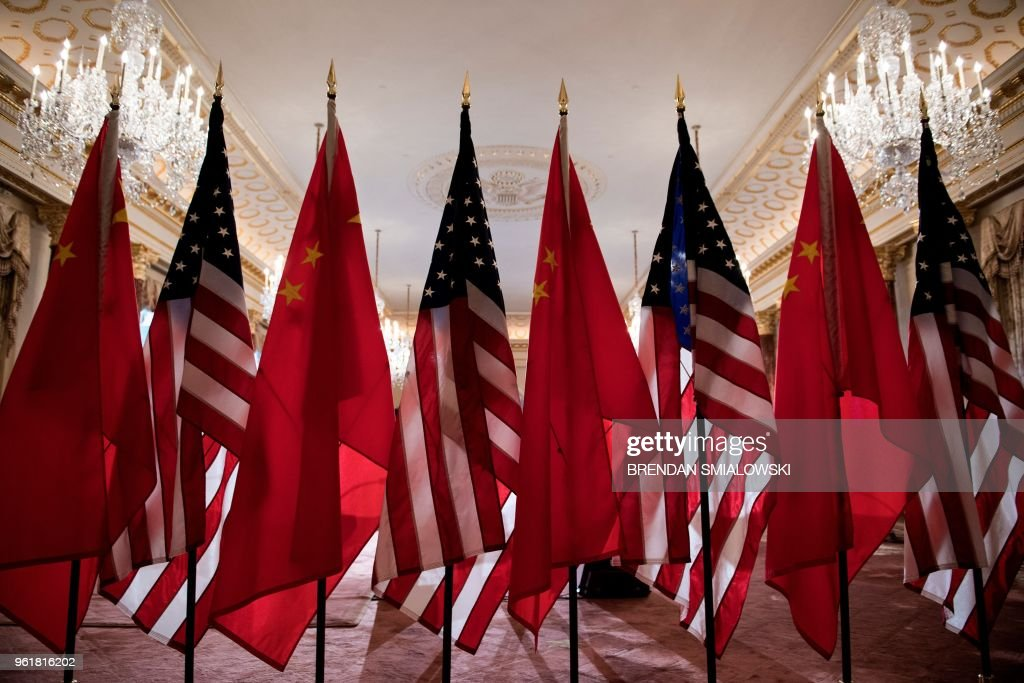 US-CHINA-POLITICS-DIPLOMACY : News Photo