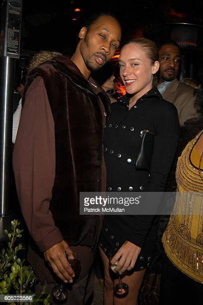 RZA and Chloe Sevigny attend HBO's Annual PreGolden Globes Party hosted by Colin Callender Chris Albrecht and Carolyn Strauss at Chateau Marmont on...