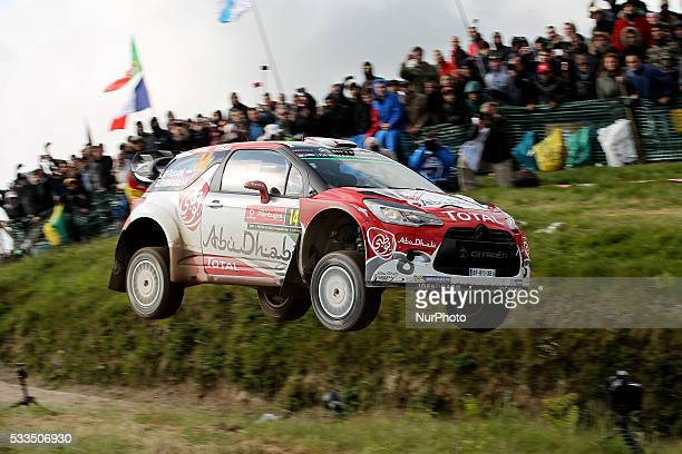 QASSIMI and CHRIS PATTERSON in CITROEN DS3 WRC of team ABU DHABI TOTAL WORLD RALLY TEAM in action during the SS17 Fafe of the WRC Vodafone Rally...
