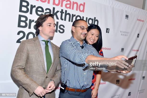 EVP and CMO at Ancestrycom Vineet Mehra and guests attend Interbrand Breakthrough Brands 2017 on May 24 2017 in New York City