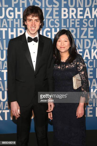 CEO and Cofounder of Quora Adam D'Angelo and guest attend the 2018 Breakthrough Prize at NASA Ames Research Center on December 3 2017 in Mountain...
