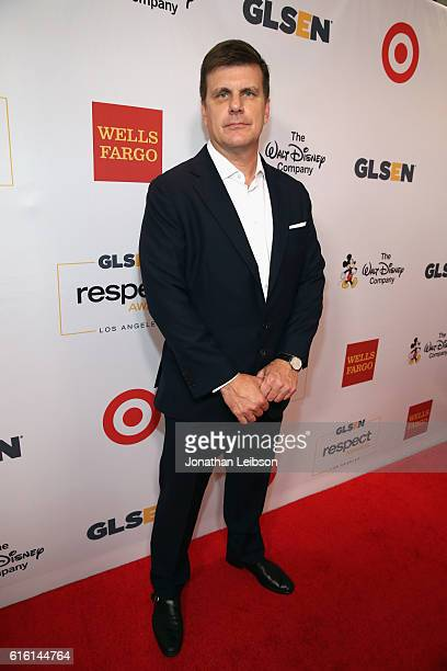 CEO and CoFounder of RealD Michael Lewis attends the 2016 GLSEN Respect Awards Los Angeles at the Beverly Wilshire Four Seasons Hotel on October 21...