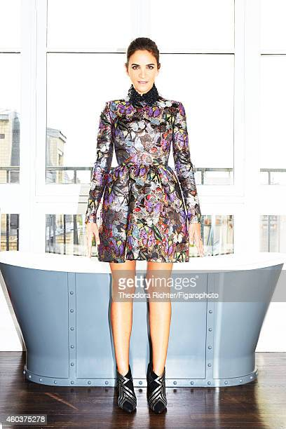 And co-founder of The Webster, Laure Heriard Dubreuil is photographed for Madame Figaro on September 21, 2014 in Paris, France. Dress . CREDIT MUST...