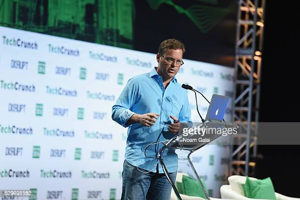 CEO and cofounder of Viv Dag Kittlaus speaks onstage during TechCrunch Disrupt NY 2016 at Brooklyn Cruise Terminal on May 9 2016 in New York City