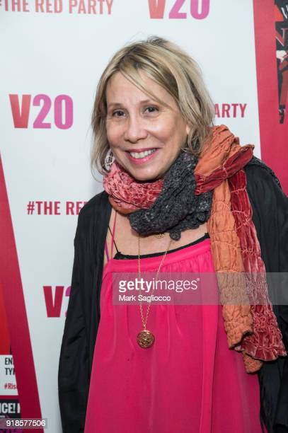CEO and Creative Director of ABC Carpet and Home Paulette Cole attends The Red Party 20th Anniversary Celebration Of VDay and The Vagina Monologues...