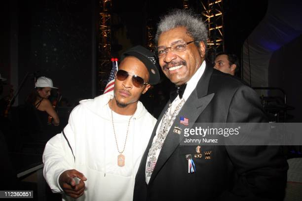 TI and Don King during 6th Annual BET Awards Inside at Shrine Audatorium in Hollywood California United States
