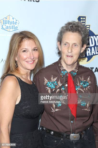 and Dr Temple Grandin attend Jon Stewart Hosts NIGHT OF TOO MANY STARS An Overbooked Concert for Autism Education at Beacon Theater on October 2 2010...