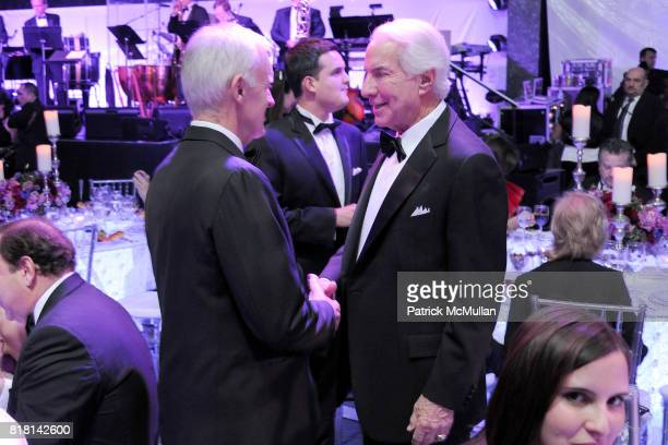 and Ed Snider attend National Museum of American Jewish History Grand Opening Gala at Market Street 5th on November 13 2010 in Philadelphia...