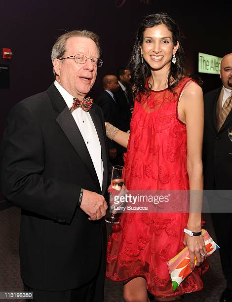 EVP and EditorInChief of Time Inc John Huey and Assistant Managing Editor Radhika Jones attend the TIME 100 Gala TIME'S 100 Most Influential People...