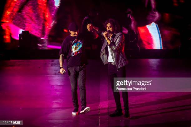 AX and Ermal Meta Performs At Forum on April 20 2019 in Milan Italy