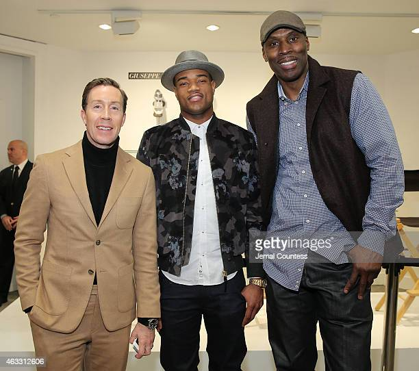 VP and Fashion Director of Men's and Home and Beauty at Saks Fifth Avenue Eric Jennings NBA Player Jarrett Jack and former NBA player Kevin Willis...