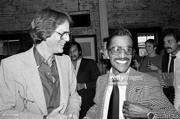 TV and Film producer and music manager Ken Kragen and Sammy Davis Jr at a Kenny Rogers party in Brooklyn New York on September 26 1980