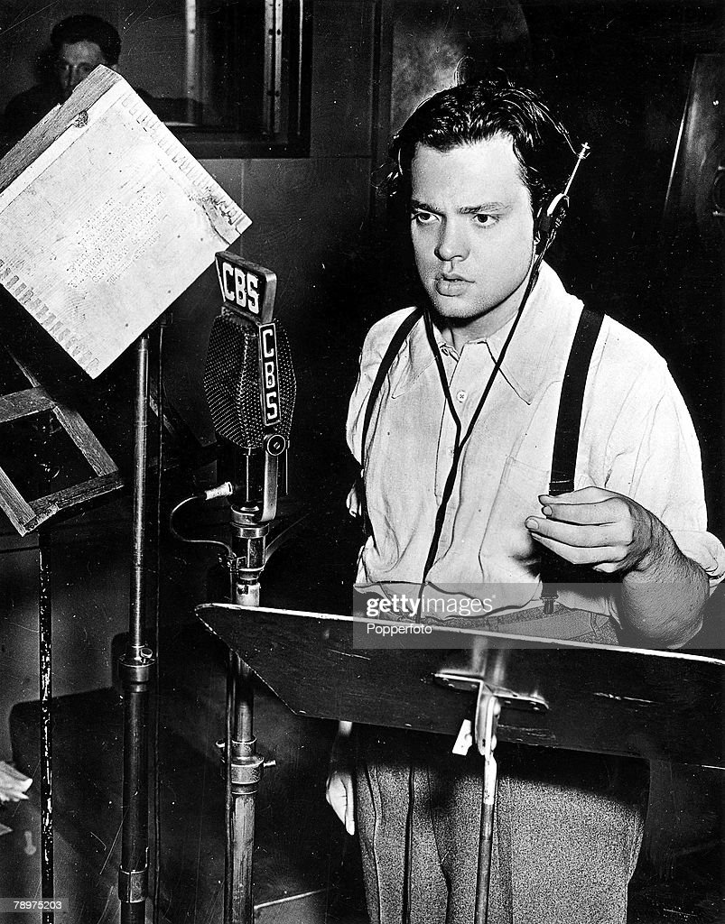 "Orson Welles Radio Adaptation of ""The War of the Worlds"" by H.G. Wells Causes Panic"