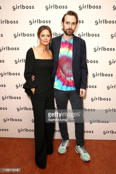 And Founder, Girlboss Sophia Amoruso and Galen Pehrson attend the 2019 Girlboss Rally at UCLA on June 29, 2019 in Los Angeles, California.