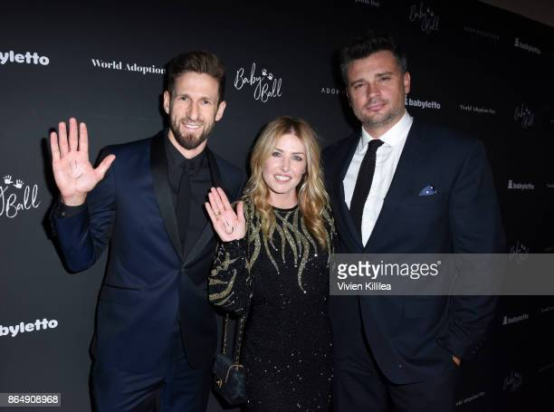 CEO and founder of AdoptTogether Hank Fortener Jessica Lee Rose and Tom Welling attend the 3rd Annual Baby Ball Gala at NeueHouse Los Angeles on...