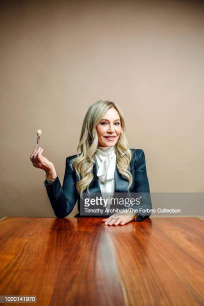 CEO and founder of Anastasia Beverly Hills Anastasia Soare is photographed for Forbes Magazine on May 30 2018 in Beverly Hills California PUBLISHED...
