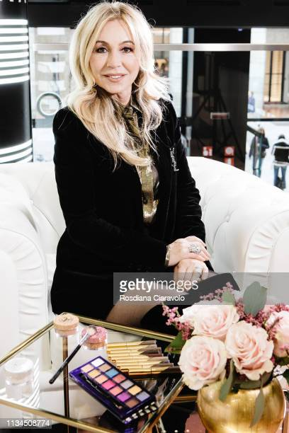 CEO and founder of Anastasia Beverly Hills Anastasia Soare poses for portraits session At Sephora Milano Duomo on March 08 2019 in Milan Italy