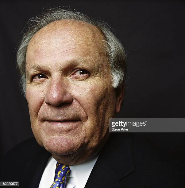 """And founder of Legg Mason, Raymond A. """"Chip"""" Mason poses at a portrait session in Baltimore, Maryland."""