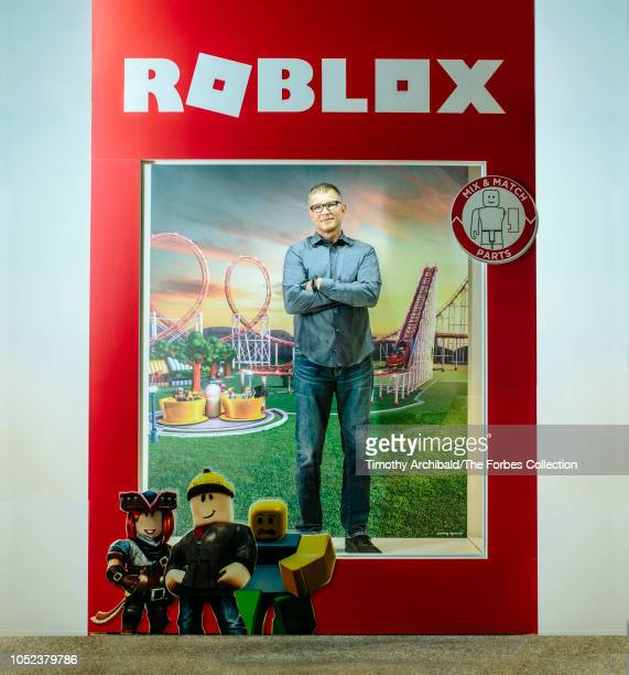 CEO and Founder of ROBLOX Dave Baszucki is photographed for Forbes Magazine on August 13 2018 at company's headquarters in San Mateo California...