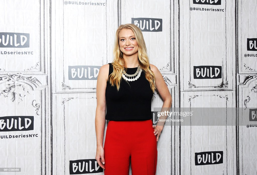 CEO and Founder of the dating app The League Amanda Bradford visits Build Series at Build Studio on June 22, 2018 in New York City.