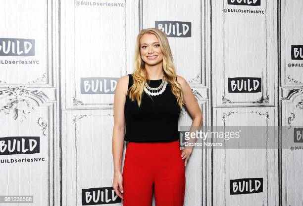 CEO and Founder of the dating app The League Amanda Bradford visits Build Series at Build Studio on June 22 2018 in New York City