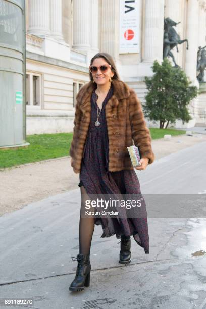 CEO and Founder of The Webster Laure HériardDubreuil on day 3 during Paris Fashion Week Autumn/Winter 2017/18 on March 2 2017 in Paris France Laure...