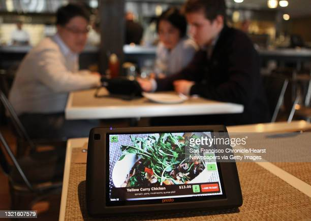 And founder Rajat Suri of E la Carte , a new tablet that restaurants can put at every table for do-it-yourself ordering and paying the bill at...