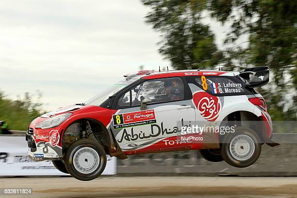 LEFEBVRE and GABIN MOREAU in CITROEN DS3 WRC of team ABU DHABI TOTAL WORLD RALLY TEAM in action during the shakedow of the WRC Vodafone Rally...