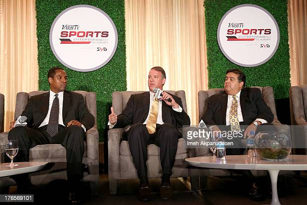 SVP and General Manager Fox Sports San Diego Henry Ford VP Content ATT Chris Lauricella and SVP of Affiliate Sales and Marketing Pac12 Network Art...