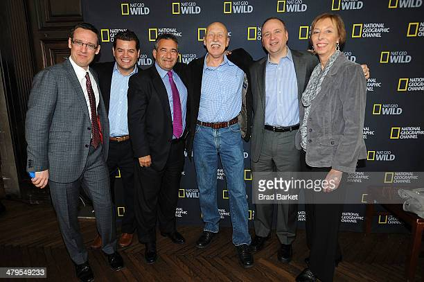 VP and General Manager Nat Geo WILD Geoffrey B Daniels Media Sales for National Geographic Mike Denby SVP Media Sales at National Geographic Channels...