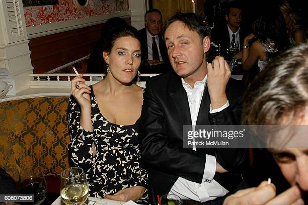 and George Gurley attend A Private Dinner to Celebrate LES PERLES DE CHANEL Hosted by Marjorie Gubelmann Raein and Samantha Boardman Rosen at The Box...