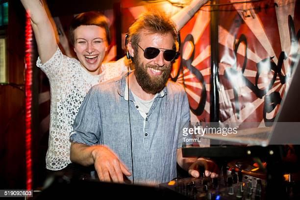 DJ and Groupie