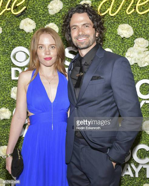 and guest attend the CBS Daytime Emmy After Party at Pasadena Convention Center on April 29 2018 in Pasadena California