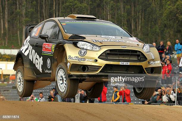 SOLBERG and ILKA MINOR in FORD FIESTA RS WRC of team HENNING SOLBERG in action during the shakedow of the WRC Vodafone Rally Portugal 2016 in...
