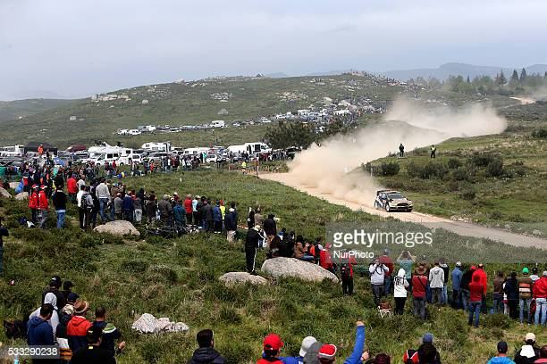 SOLBERG and ILKA MINOR in FORD FIESTA RS WRC of team HENNING SOLBERG in action during the SS13 Baiao of the WRC Vodafone Rally Portugal 2016 in...