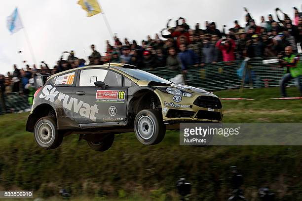 SOLBERG and ILKA MINOR in FORD FIESTA RS WRC of team HENNING SOLBERG in action during the SS17 Fafe of the WRC Vodafone Rally Portugal 2016 in...